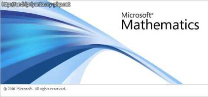 Belajar Matematika dengan Microsoft Mathematics