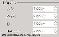 Mengatur Halaman Pada Dokumen di LibreOffice Writter