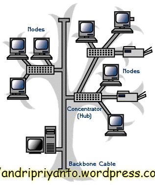 Topologi Tree (sumber: http://agusckurniawan.blogspot.com/)
