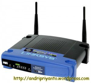 Router Wireless (sumber: http://xvongola.blogspot.com)