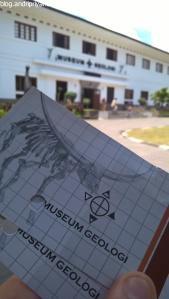 Tiket Masuk Museum Geologi